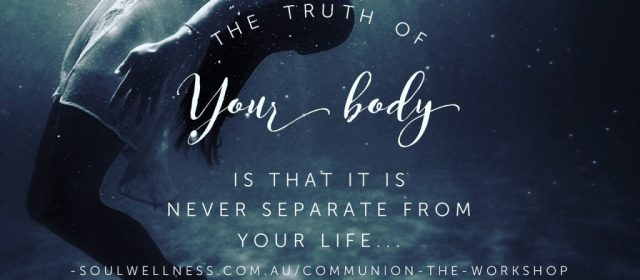 How 'Balance Your Body' became 'Communion'